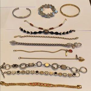 Jewelry - Bracelet collection 12 bracelets different styles